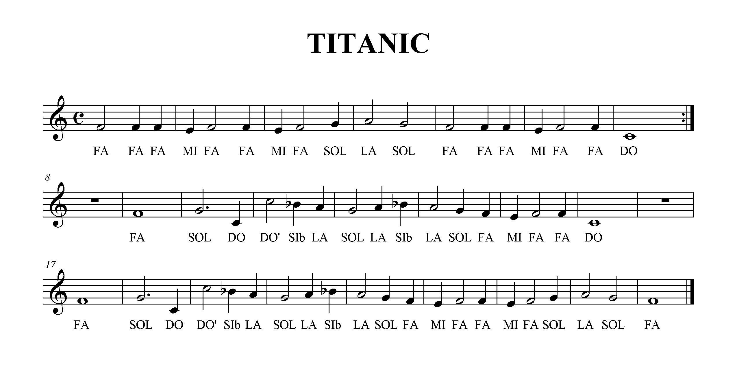 letra de la cancion de titanic con: